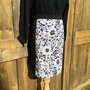 LAUNDRY BY SHELLI SEGAL Print Pencil Mini-skirt, 8